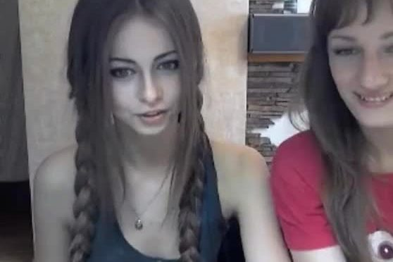 Beauty and the beast on webcam